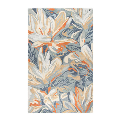 Rizzy Home Mod Collection Fiona Floral RectangularRugs