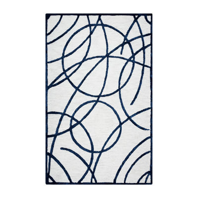 Rizzy Home Monroe Collection Eleanor Geometric Rectangular Rugs