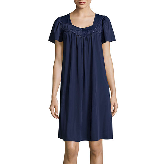 Collette by Miss Elaine Tricot Short Nightgown