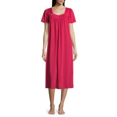 Collette by Miss Elaine Tricot Long Nightgown