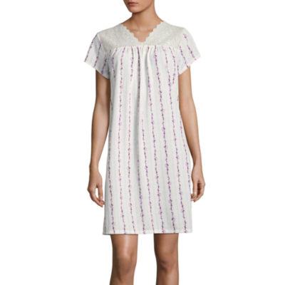 Adonna Short SleeveShort Nightgown