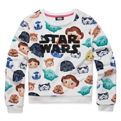 Long Sleeve Star Wars Sweatshirt - Big Kid Girls