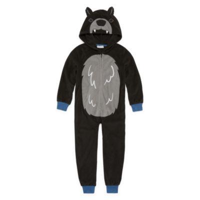 Bear One Piece Pajama Suit - Boys 4-20