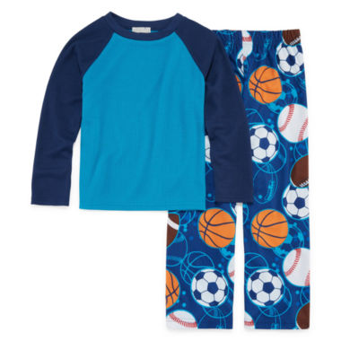 Sports 2 Piece Pajama Set - Boys 4-20