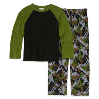 Wolf 2 Piece Pajama Set - Boys 4-20