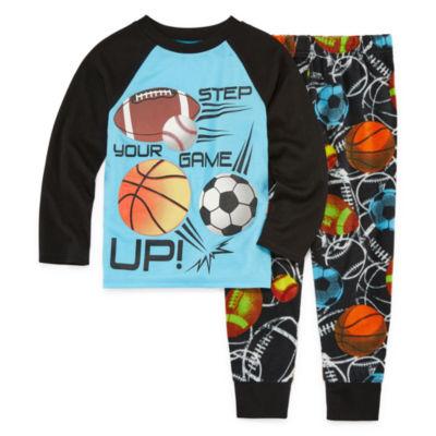 All Sport 2 Piece Pajama Set - Boys 4-20