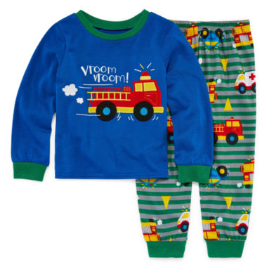 Toddler Boys 2 Piece Pajama Set