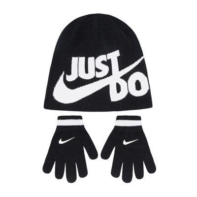 Nike Just Do It Hat & Glove Set - Boys 4-7