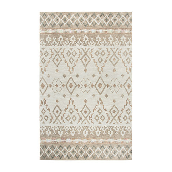 Rizzy Home Opulent Collection Navaeh Geometric Rectangular Rugs