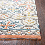 Rizzy Home Opulent Collection Piper Medallion Rectangular Rugs