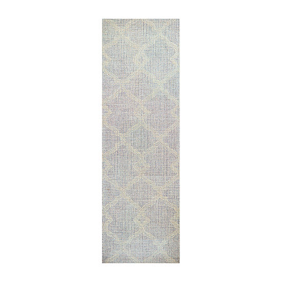Rizzy Home Opulent Collection Serenity Geometric Rectangular Rugs