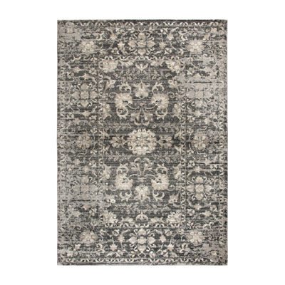 Rizzy Home Panache Collection Delaney Floral Rectangular Rugs