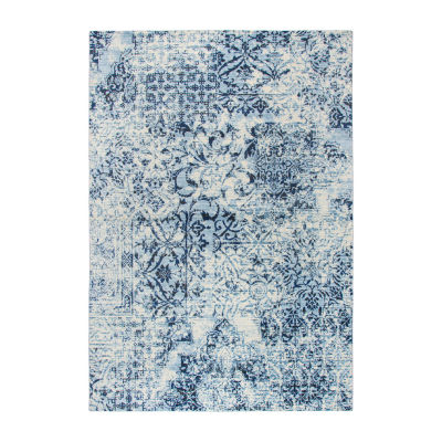 Rizzy Home Panache Collection Hope Floral Rectangular Rugs