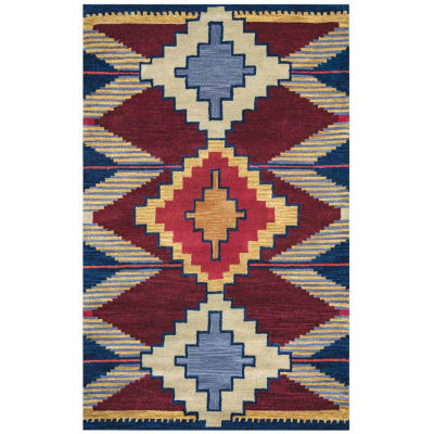 Rizzy Home Southwest Collection Charlee Diamond Rugs
