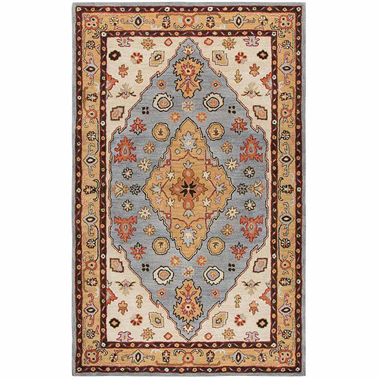 Rizzy Home Stafford Collection Talia Medallion Rectangular Rugs