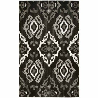 Rizzy Home Suffolk Collection Angel Medallion Rectangular Rugs