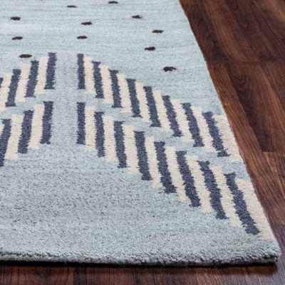 Rizzy Home Tumble Weed Loft Collection Amiyah DotsRectangular Rugs