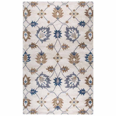 Rizzy Home Valintino Collection Addilyn Oriental Rectangular Rugs