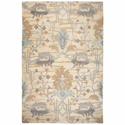 Rizzy Home Valintino Collection Amanda Pattern Rectangular Rugs