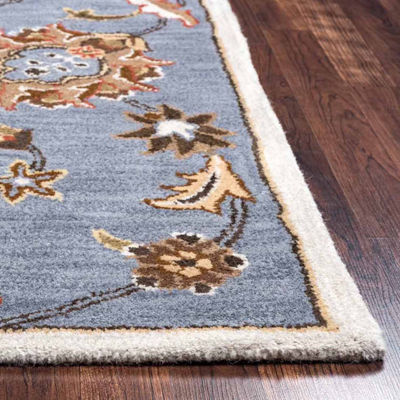 Rizzy Home Valintino Collection Annabelle Floral Rectangular Rugs