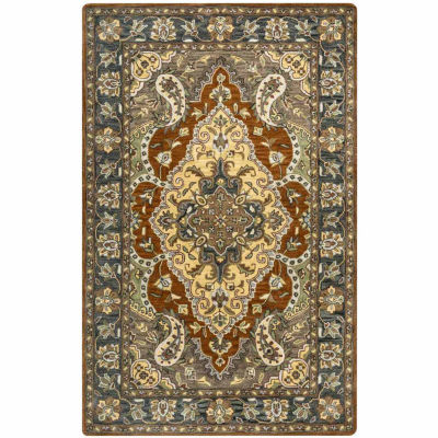 Rizzy Home Valintino Collection Kathryn Bordered Rugs