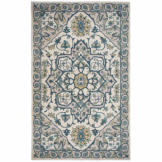 Rizzy Home Valintino Collection Katie Oriental Rectangular Rugs