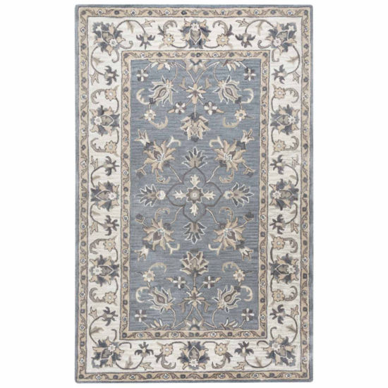 Rizzy Home Valintino Collection Lia Bordered Rugs