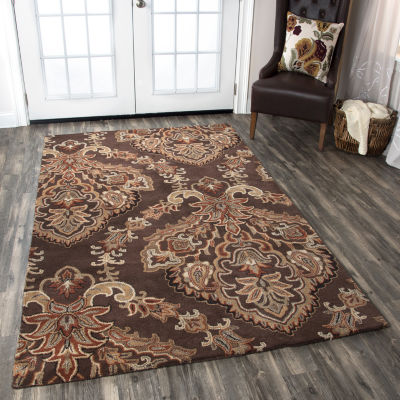 Rizzy Home Volare Collection Raelyn Medallion Rugs