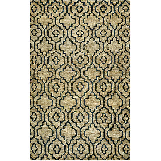 Rizzy Home Whittier Collection Arielle Geometric Rectangular Rugs