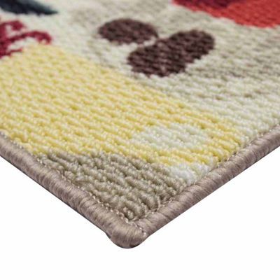 Structures Coffee Textured Loop Kitchen Mat
