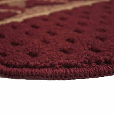 Structures Salsa Chili Textured Loop Wedge KitchenMat