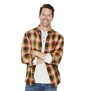 St. Johns Bay Long Sleeve Flannel Shirt