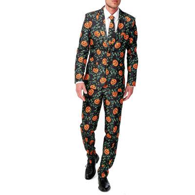 Suitmeister Men's Pumpkin Leaves - Slim Fit
