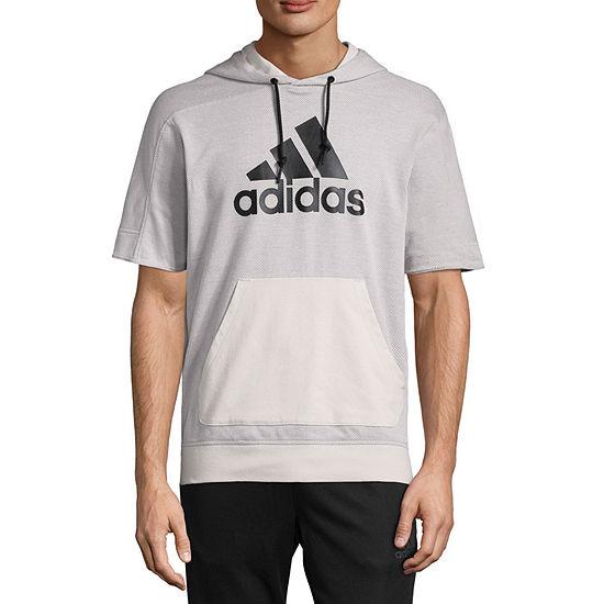 adidas shortsleeve hoodie