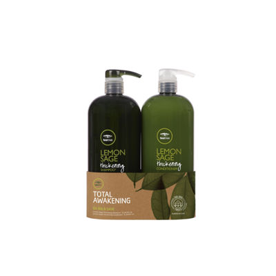 Paul Mitchell Tea Tree Tea Tree Lemon Sage Liter Duo 2-pack Value Set