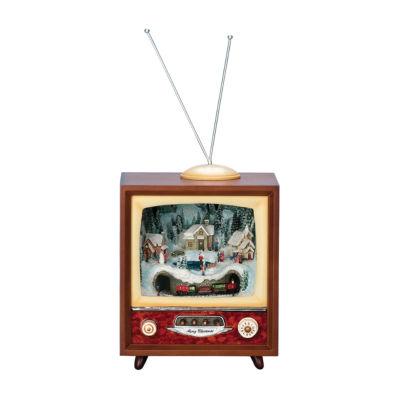 Music Box, TV w/ Train