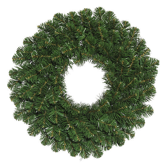 "Vickerman 36"" Oregon Fir Christmas Wreath Unlit"