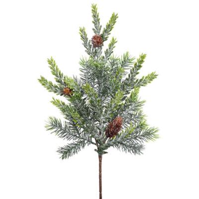 "Vickerman 18"" Frosted Hemlock-Angel Pine Artificial Christmas Spray Unlit"""