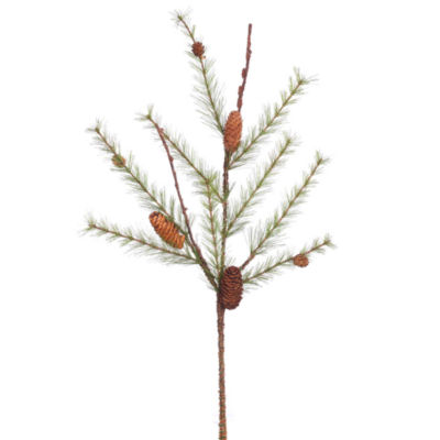 "Vickerman 26"" River Pine Artificial Christmas Spray Unlit"""