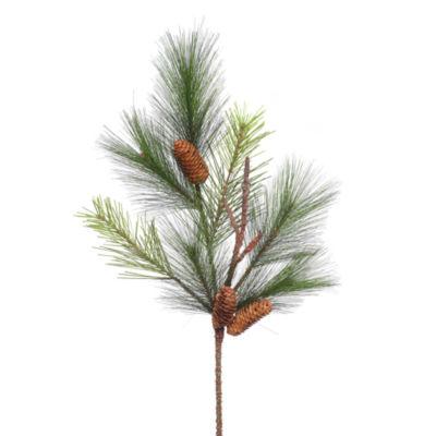 "Vickerman 29"" Bavarian Pine Artificial Christmas Spray Unlit"