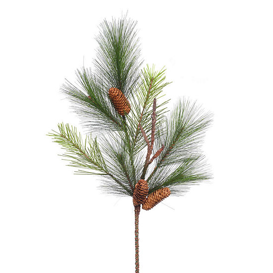"Vickerman 29"" Bavarian Pine Artificial Christmas Spray Unlit"