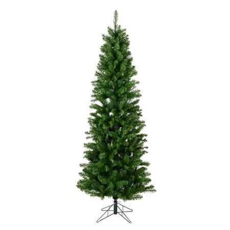 Vickerman 6 1/2 Foot Slim Christmas Tree. One Size . Green