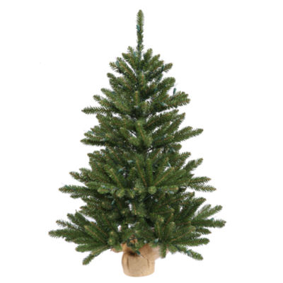 Vickerman Anoka Pine Artificial Christmas Tree with Warm White LED Lights
