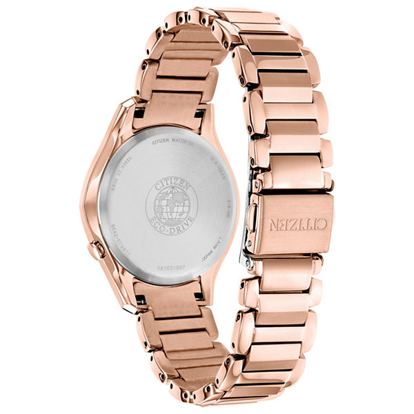 Citizen Womens Pink Bracelet Watch-Em0593-56a