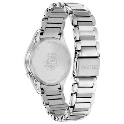 Citizen Womens Silver Tone Bracelet Watch-Em0590-54a
