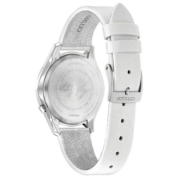 Citizen Womens White Strap Watch-Em0598-01d