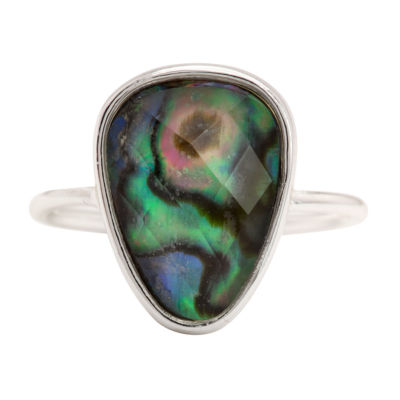 City Rocks City Rocks Womens Multi Color Brass Cocktail Ring