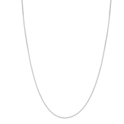Sterling Silver 18 Inch Box Chain Necklace