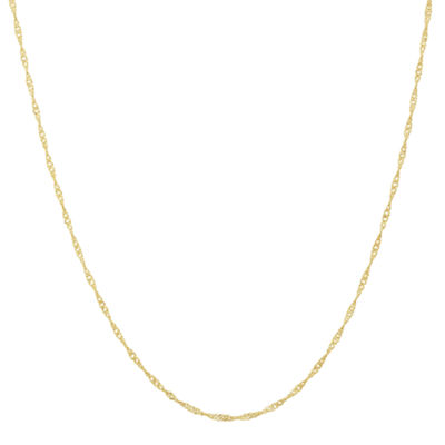 Singapore 22 Inch Chain Necklace