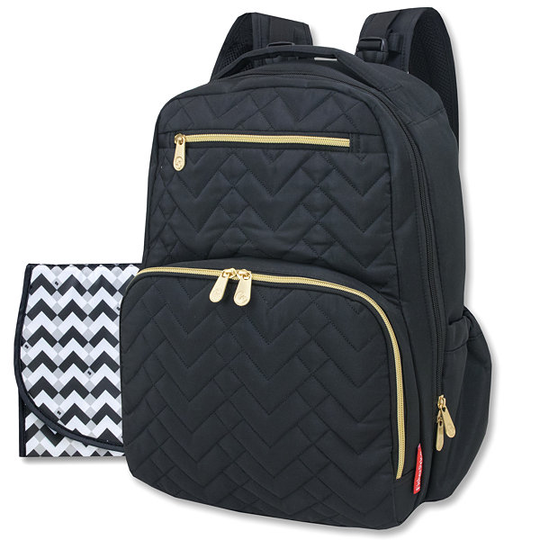 Fisher-Price Quilted Diaper Bag - JCPenney : black quilted diaper bag - Adamdwight.com